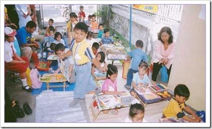 pos penitipan anak di RS Soetomo