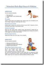 Stimulasi Bayi Umur 6 - 9 Bulan