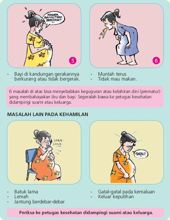 Ibu Hamil 07 - Tanda Bahaya dan Masalah Lain
