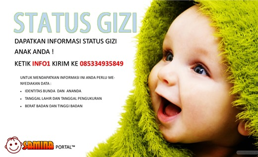 Samina Portal, Status Gizi
